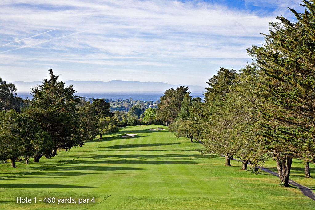photo of Pasatiempo Hole 1