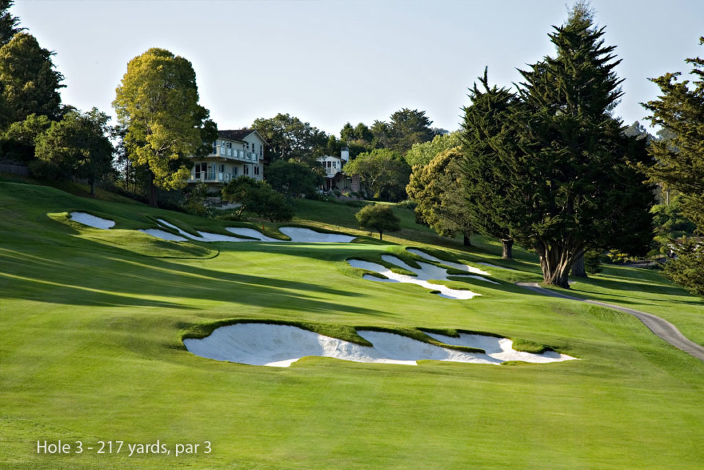 photo of Pasatiempo Hole 3