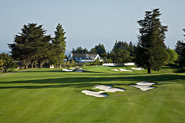 photo of Pasatiempo Hole 4