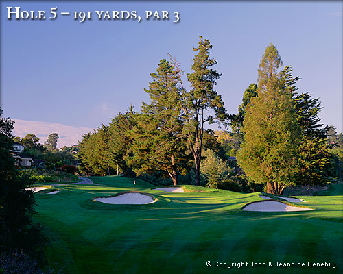 photo of Pasatiempo Hole 5