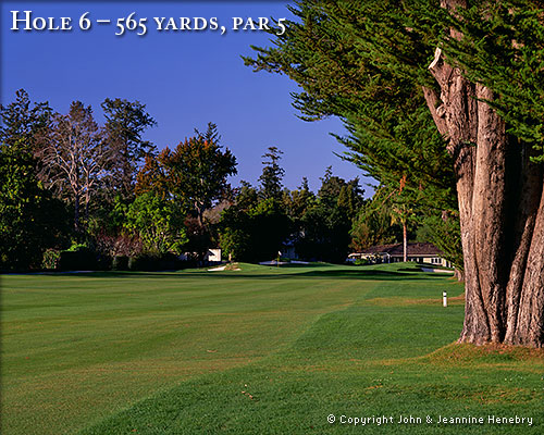 photo of Pasatiempo Hole 6
