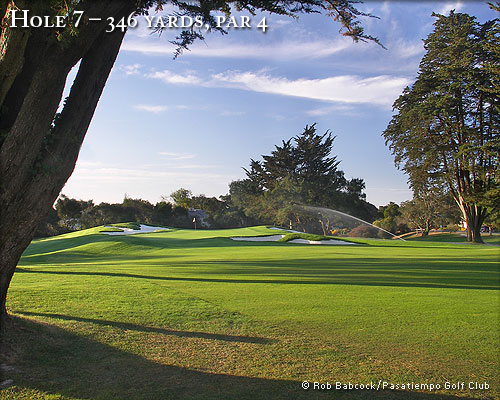 photo of Pasatiempo Hole 7