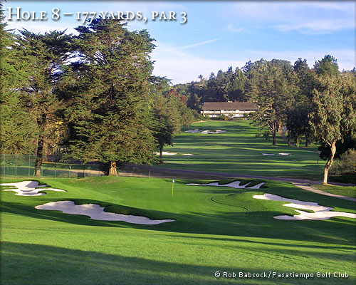 photo of Pasatiempo Hole 8