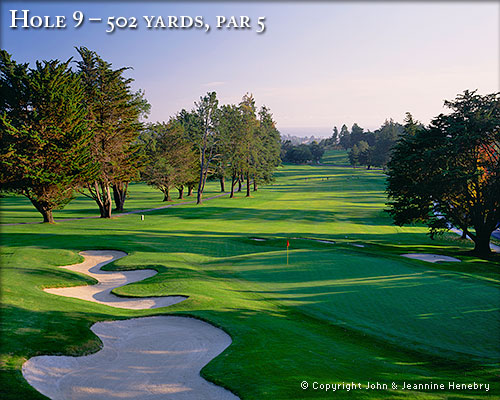 photo of Pasatiempo Hole 9