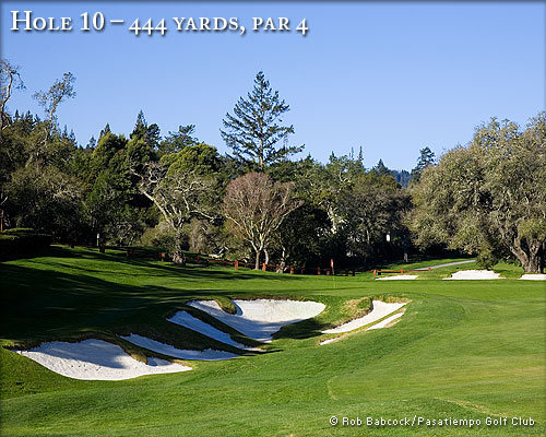 photo of Pasatiempo Hole 10
