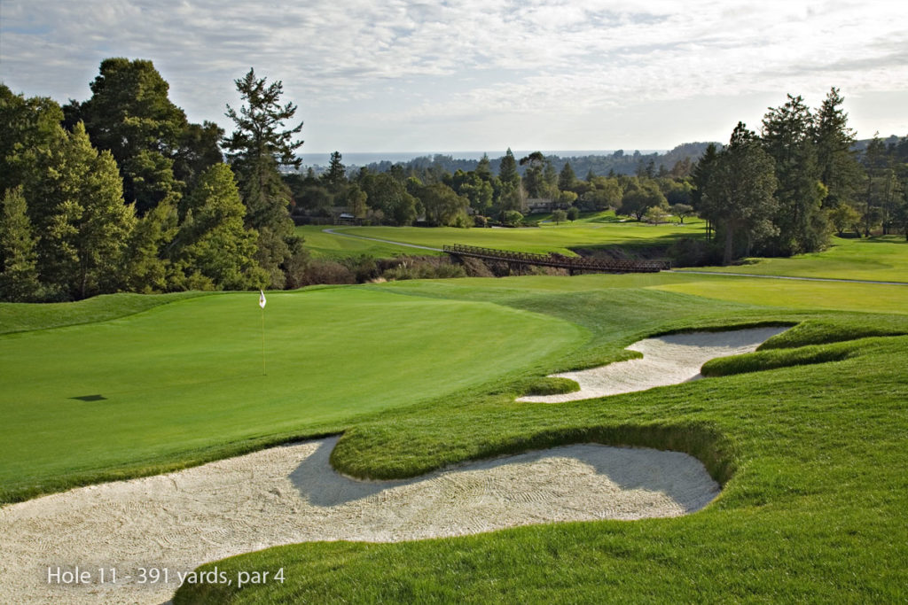 photo of Pasatiempo Hole 11