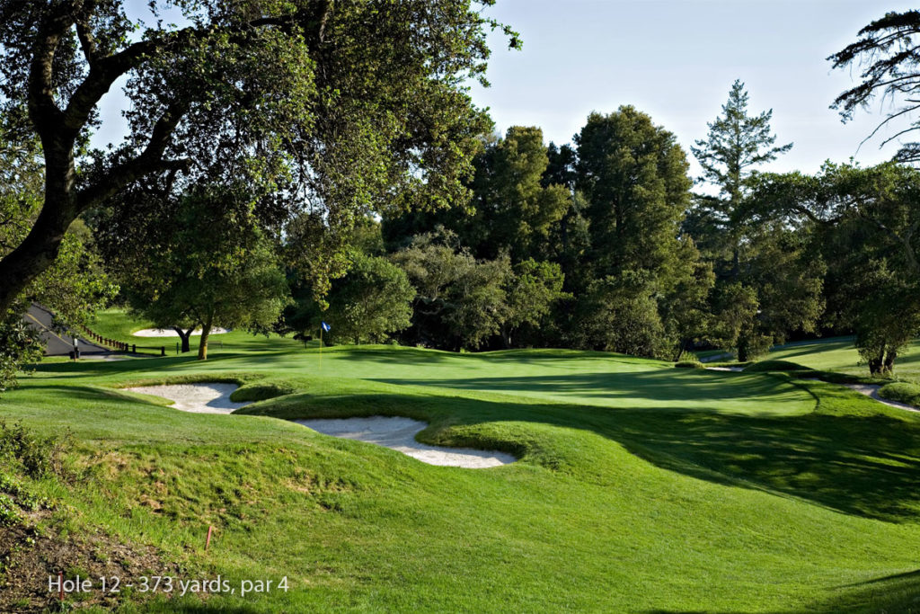 photo of Pasatiempo Hole 12