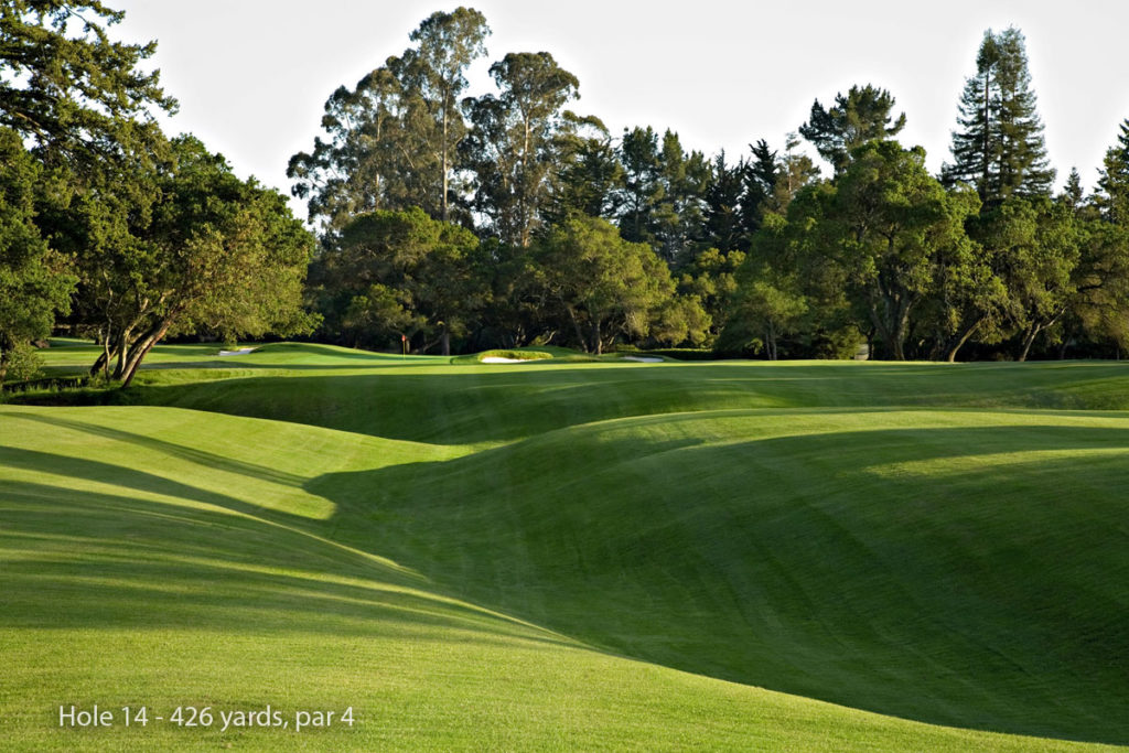 photo of Pasatiempo Hole 14