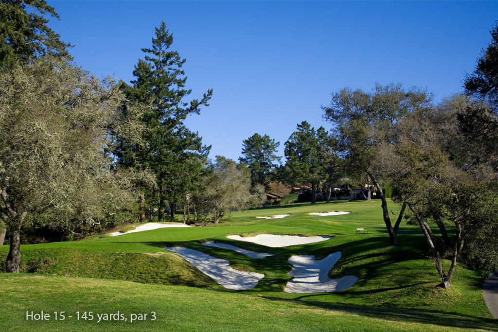 photo of Pasatiempo Hole 15