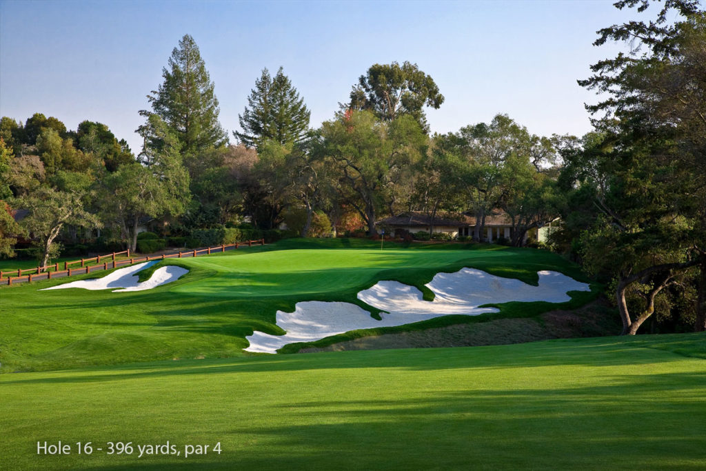 photo of Pasatiempo Hole 16