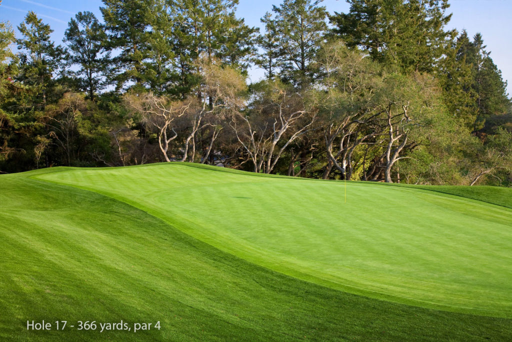 photo of Pasatiempo Hole 17