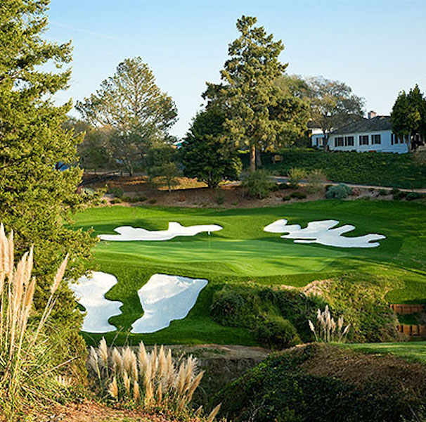 photo of Pasatiempo Hole 18