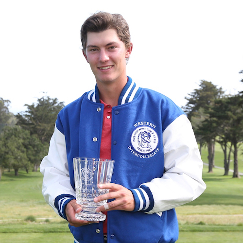 photo of 2016 medalist, Maverick McNealy (Stanford)