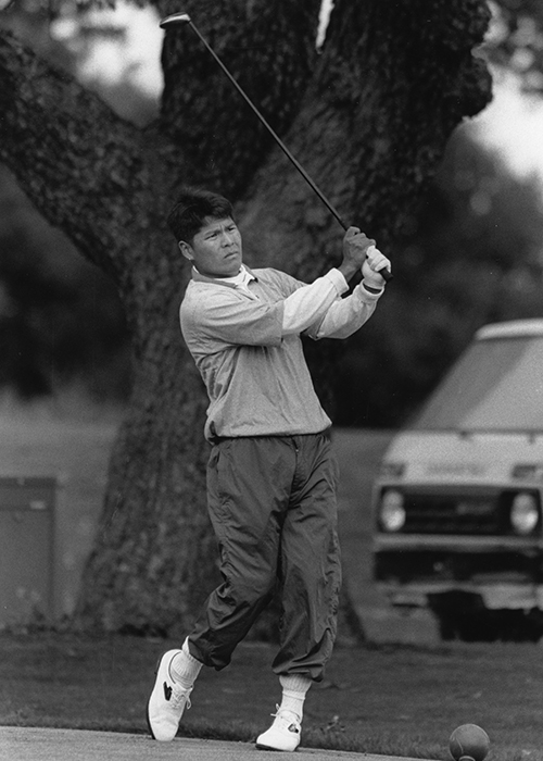 photo of Notah Begay, Stanford